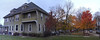 Indiana - Panoramic Shots : the town of Goshen and Goshen College in a wide view - all mobile shots