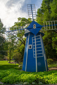 Small Blue Windmill