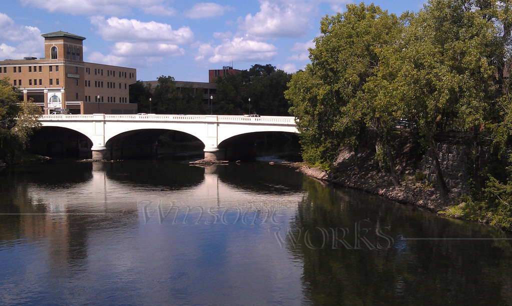 St. Joseph River Panorama - South Bend