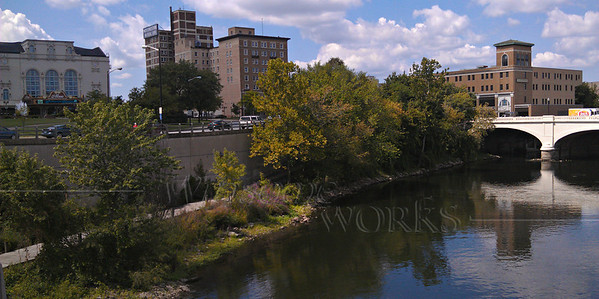 St. Joseph River Panorama - South Bend