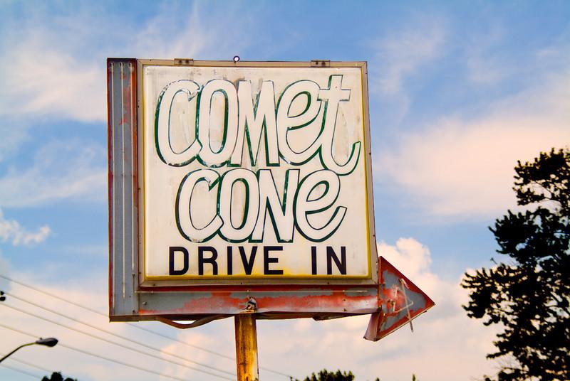 Comet Cone Drive In