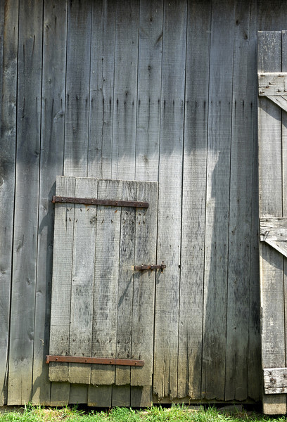 150-year-old barn door