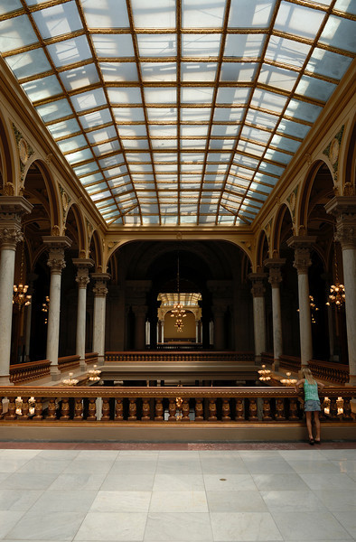Interior of Indiana State Capital building