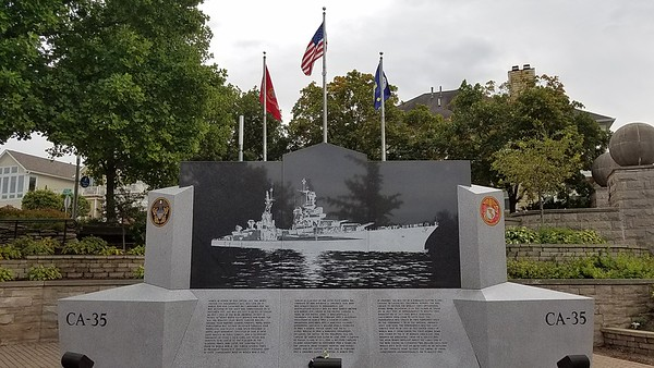 USS Indianapolis CA-35 Memorial (worst Naval disaster in US history WWII).