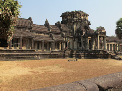 First inner wall at Angkor Wat.