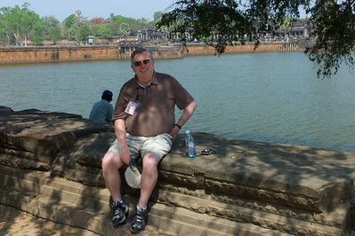 George Denham at Angkor Wat.