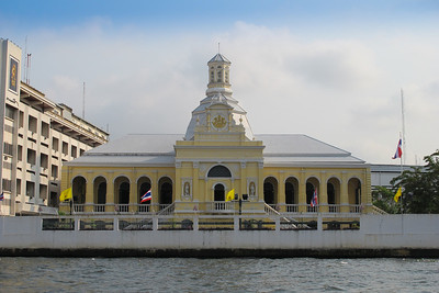 Royal Seminary on the Chao Phraya River, Bangkok, Thailand.