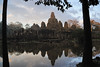 Looking north across the moat to Bayon.