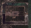 Satellite view of Angkor Wat