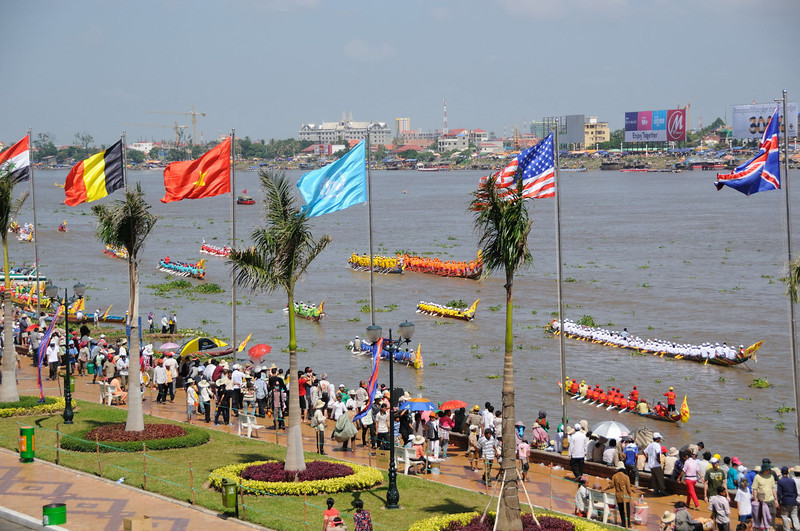 The Water and Moon Festival - view from Foreign Correspondent's Club