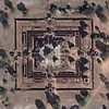 Satellite image of Prasat Pre Roup Temple