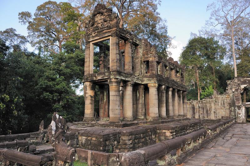 Doric influence at Preah Khan Temple.