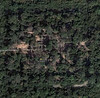 Satellite image of Ta Prohm Temple