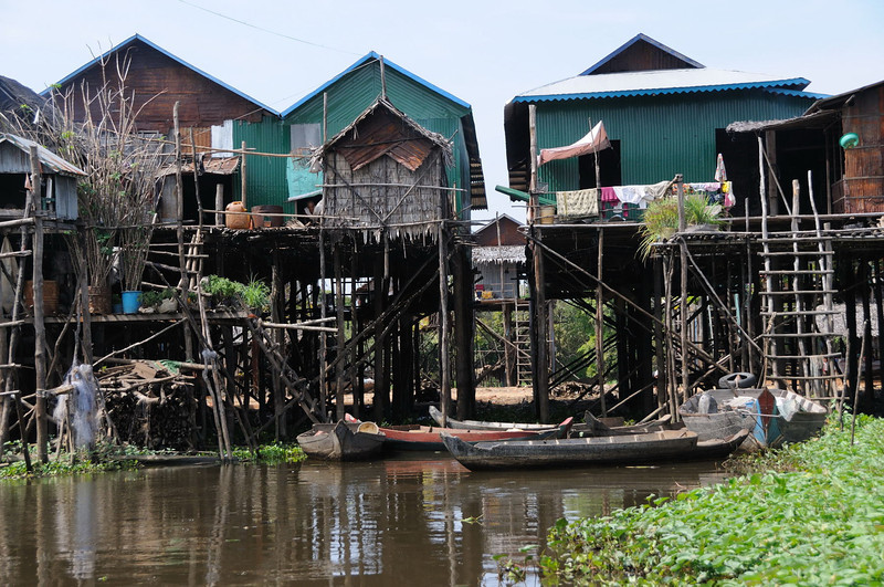 Kampong Phulk village on Tonlé Sap Lake.