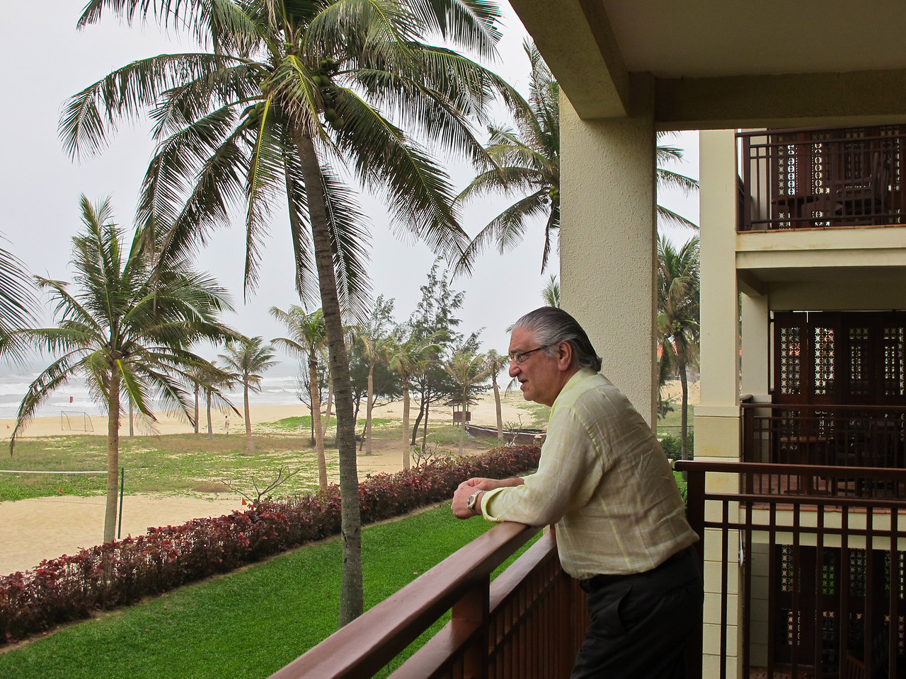 David Minker at China Beach, Danang, Vietnam