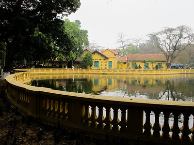 Ho Chi Minh's residence in Hanoi.