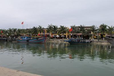 Thu Bon River in Hoi An.