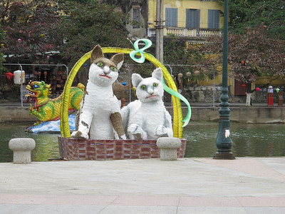 It's the year of the cat in Vietnam.