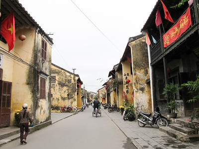 Old section of Hoi An.