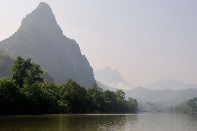 The Nam Ou River.
