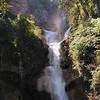 The high waterfall at Tat Kuang Si.