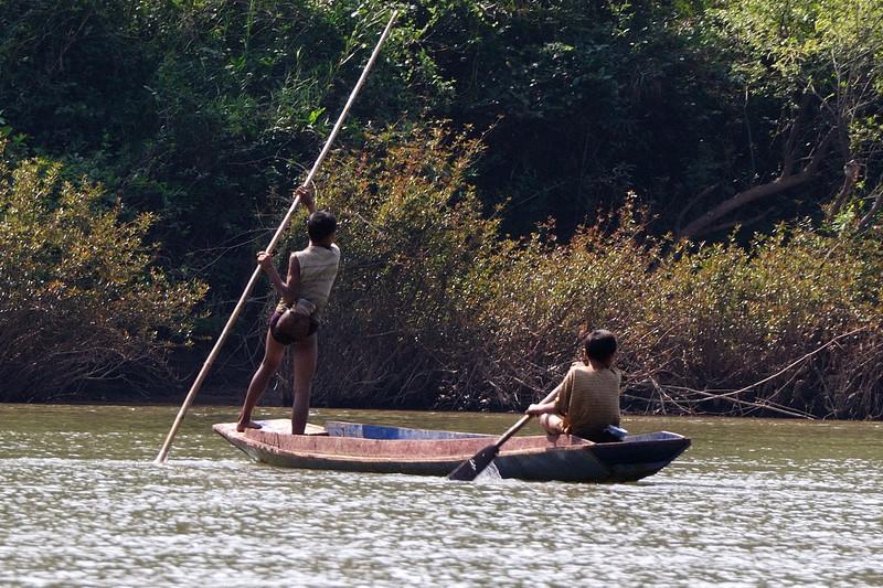 Nam Ou river.