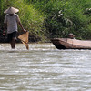 Fisherman in Nam Ou river.