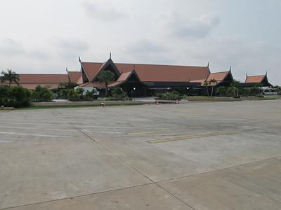 Airport at Siem Reap.