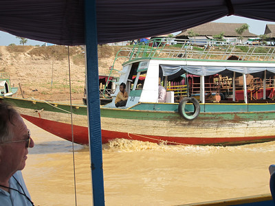 Joseph Van De Water enroute to Tonle Sap Lake.