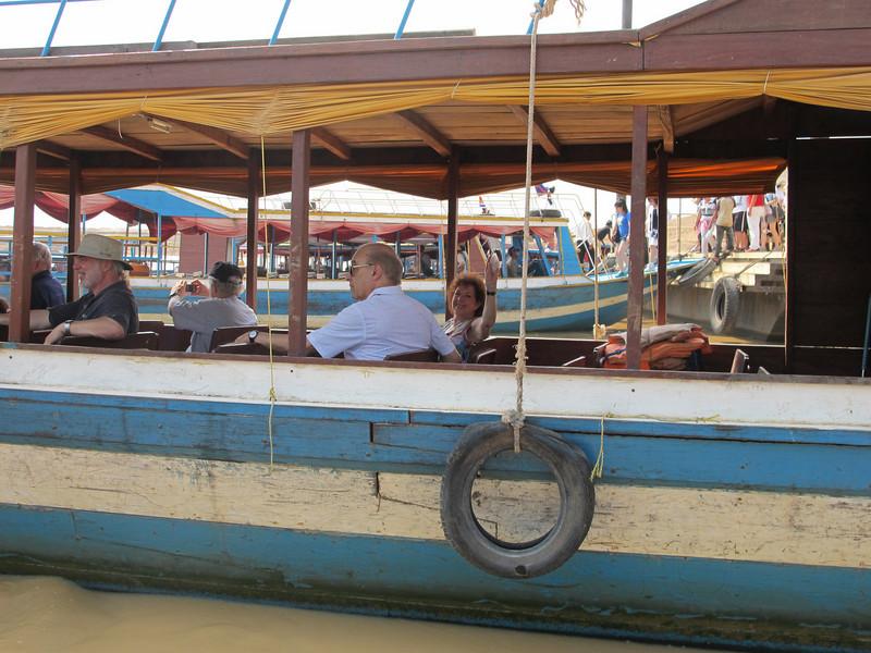 Siem Reap, Cambodia - Raffles Hotel, Killing Fields, Floating