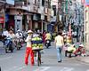 Bui Vien Street, near Pham Ngu Lao in Saigon, Ho Chi Minh City, Vietnam