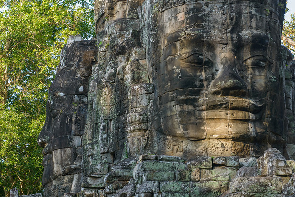 Angkor Thom. The Victory Gate.