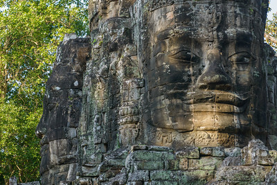 Angkor Thom. The Victory Gate.
