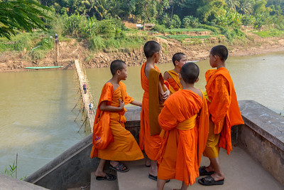 Young boys often spend some time in a monastery at some point. It may be only a few weeks to some months.