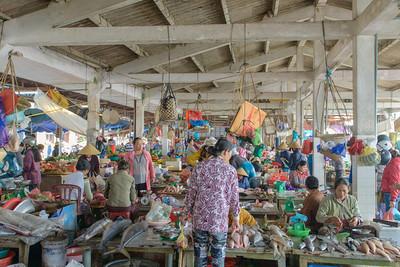 Hoi An daily market.