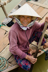 Woman in Hoi An, Vietnam.
