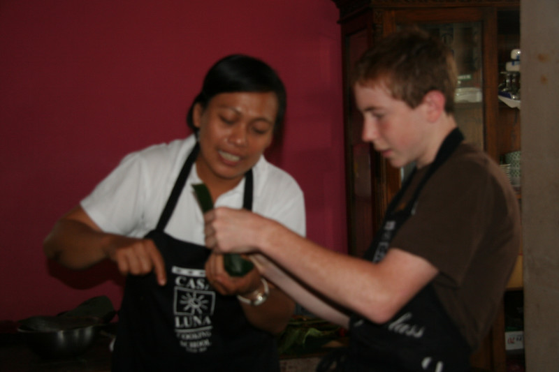 Brendy Casa Luna Cooking School Ubud
