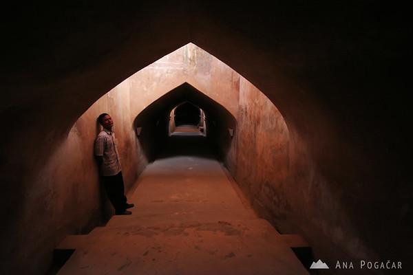 An underground mosque in Yogyakarta