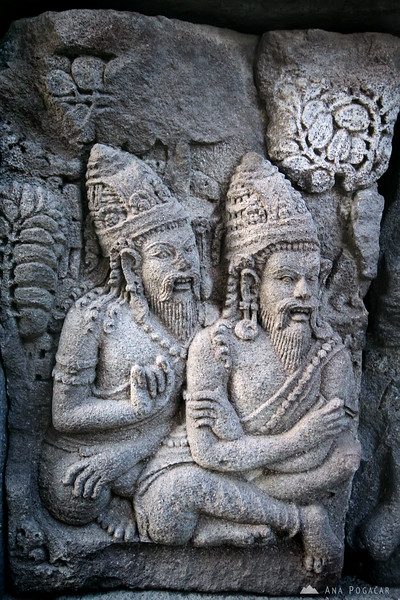 Relief from the Prambanan temple near Yogyakarta