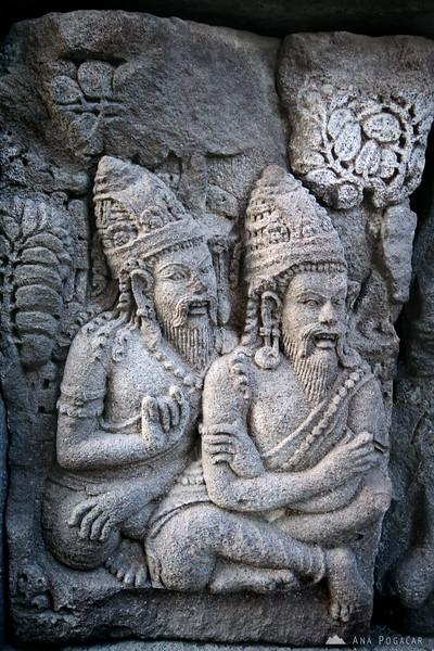 Relief from the Prambanan temple near Yogyakarta