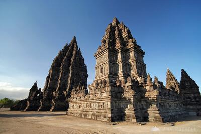 Prambanan temple near Yogyakarta