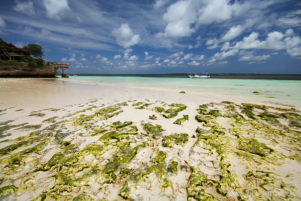At the low tide in Pantai Bira