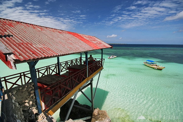 A perfect spot for a restaurant in Pantai Bira