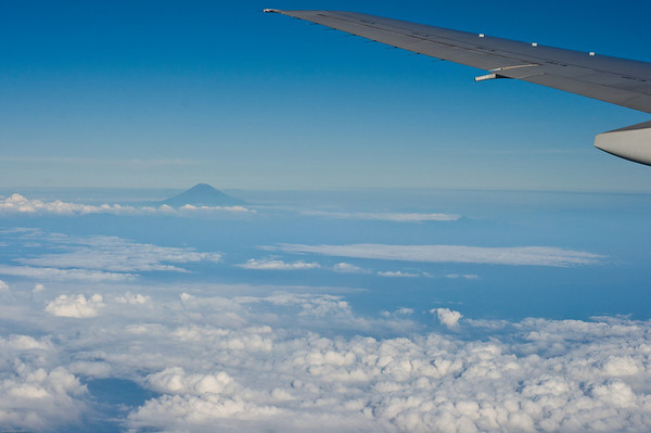 Mount Fuji from Above the Clouds