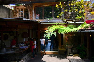 Warung Lela, where we stopped for lunch and a beautiful view