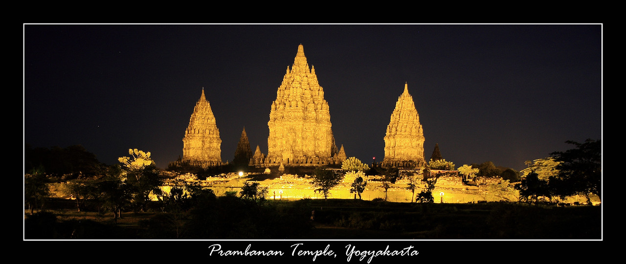 One of the most spectacular Hindu temples in the world - Prambanan, located in Yogyakarta, we had dinner here then went and watched a unique cultural Ballet, which was very interesting.