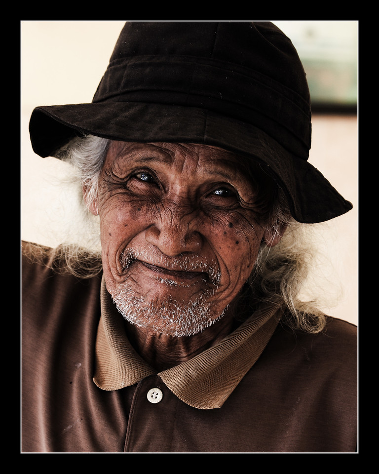 A local Indonesian I encountered on the way to Yogyakarta, very friendly and curious of the camera.