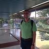 Scott at Jakarta airport