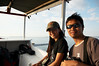 boat ride to Gili Trawangan