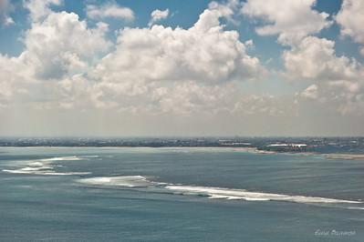 подлетаем к Бали